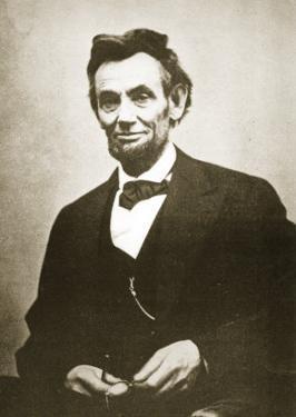Abraham Lincoln, 1865 by Alexander Gardner