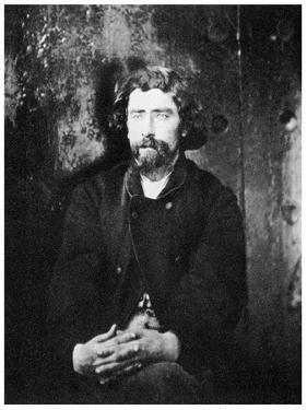 Dr Samuel Mudd, Member of the Lincoln Conspiracy, 1865 by Alexander Gardner