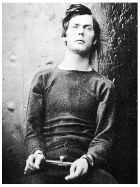 Lewis Powell, Member of the Lincoln Assassination Plot, 1865 by Alexander Gardner