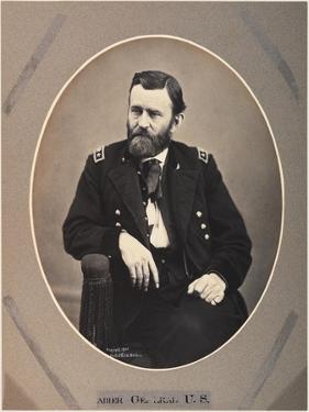 Platinum Rice Print of Ulysses S. Grant, 1865, Printed 1901 by Alexander Gardner