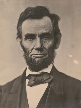 Portrait of Abraham Lincoln, November 1863, Printed c.1910 by Alexander Gardner