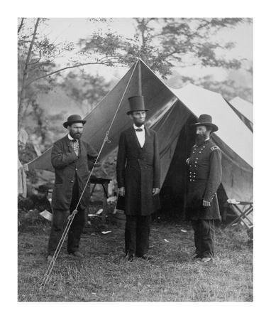 President Lincoln on the Battlefield of Antietam, Maryland, October 2, 1862
