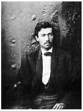Samuel Arnold, Member of the Lincoln Conspiracy, 1865(195) by Alexander Gardner