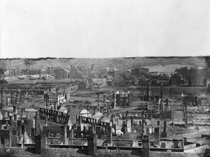 Wide Scenery of War Torn Buildings by Alexander Gardner