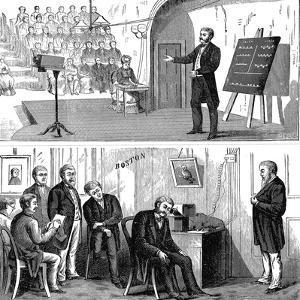 Alexander Graham Bell (1847-192), Scottish-Born American Inventor, 1877