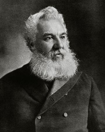Alexander Graham Bell, American inventor 1905