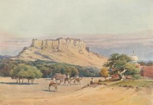 'Jodhpur - General view of the Fort', c1880 (1905) by Alexander Henry Hallam Murray