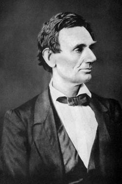 Abraham Lincoln, 16th President of the United States, 1860S by Alexander Hessler