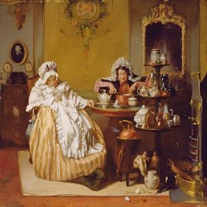 High Tea, 1866 by Alexander Hugo Bakker-Korff