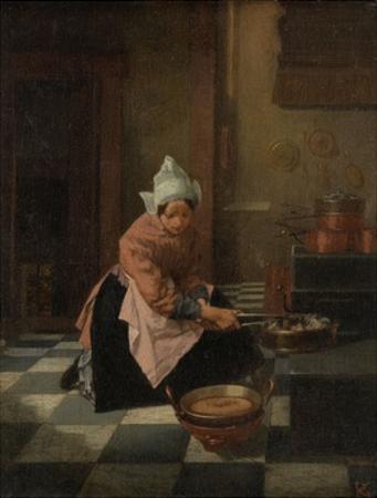 The Waffle Baker, C. 1850-82