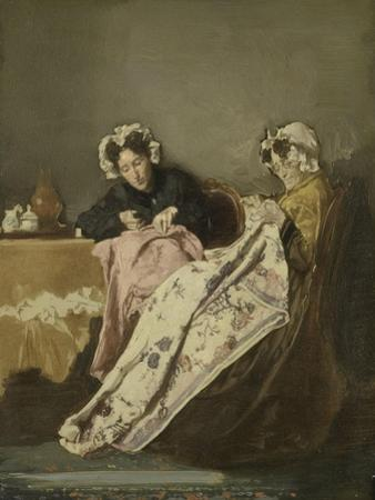 Two Ladies at their Sewing