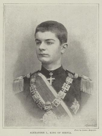 Alexander I, King of Servia