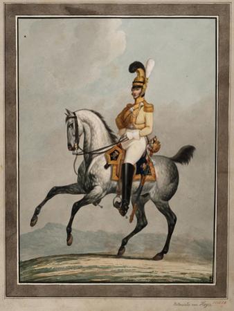 Dragoon Officer of the Royal Saxon Army