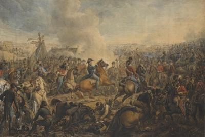 The Battle of Waterloo, after the Order for the Advance of the British Army, 1815, C.1815