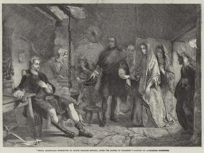 Flora Macdonald Introduced to Prince Charles Edward, after the Battle of Culloden