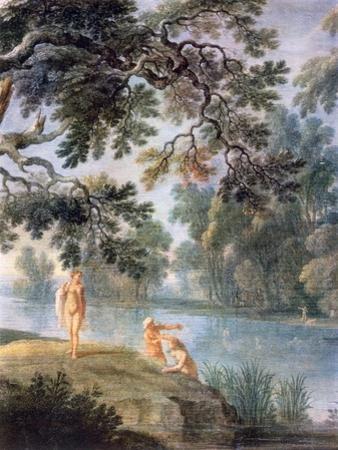 Nymths Bathing, (Detail), C1620-1652