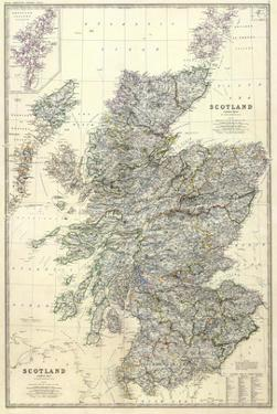 Composite: Scotland, c.1861 by Alexander Keith Johnston