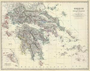 Greece, c.1861 by Alexander Keith Johnston