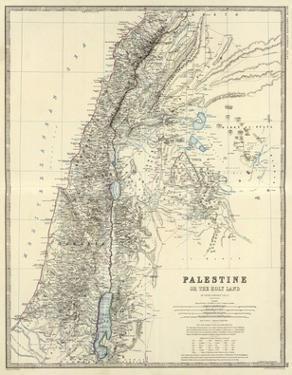 Palestine, c.1861 by Alexander Keith Johnston