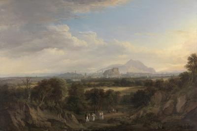 A View of Edinburgh from the West, C.1822-26 by Alexander Nasmyth