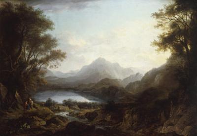 Loch Lomond, 1809 by Alexander Nasmyth