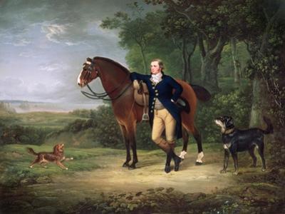 Portrait of a Gentleman, Probably George Hay, 7th Marquess of Tweeddale (1753-1804) C.1790 by Alexander Nasmyth