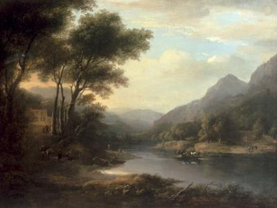 The Ferry at Inver by Alexander Nasmyth