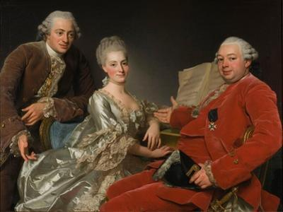 John Jennings, His Brother and Sister-In-Law, 1769