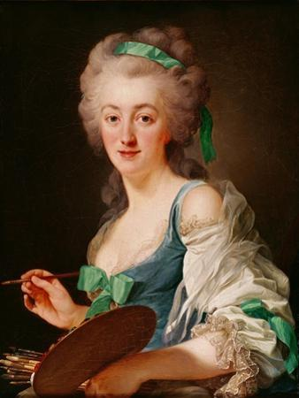 Portrait of Anne Vallayer-Coster, 1783