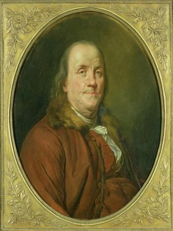 Portrait of Benjamin Franklin, C.1780-90