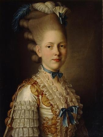 Portrait of Countess Kh. Obolenskaya, Ca 1776
