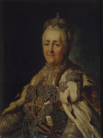 Portrait of Empress Catherine II (1729-179)
