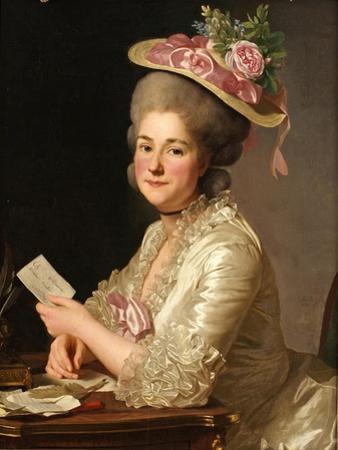 Portrait of Marie Emilie Cuivilliers, Née Boucher, 1779