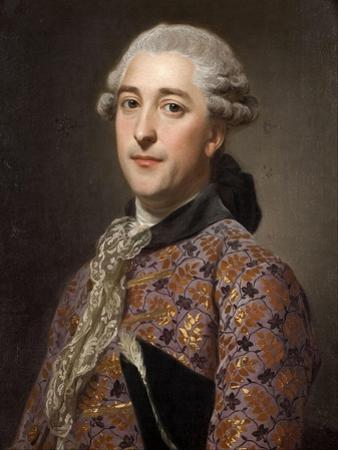 Portrait of Prince Vladimir Borisovich Golitsyn (1731-179), 1762