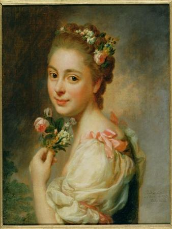 Portrait of the Artist's Wife, Marie Suzanne, 1763