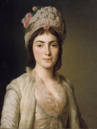 Portrait of Zoie Ghica, the Princess of Moldavia, 1777