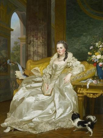 The Comtesse D'Egmont Pignatelli in Spanish Costume, 1763
