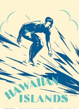 Hawaiian Islands - Surfing by Alexander Samuel MacLeod
