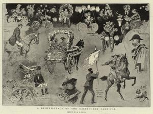 A Reminiscence of the Eastbourne Carnival by Alexander Stuart Boyd
