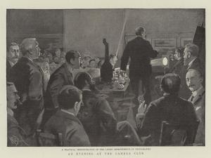 An Evening at the Camera Club by Alexander Stuart Boyd