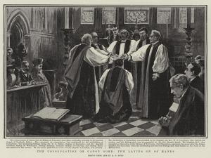 The Consecration of Canon Gore, the Laying on of Hands by Alexander Stuart Boyd