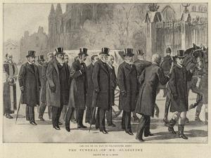 The Funeral of Mr Gladstone by Alexander Stuart Boyd
