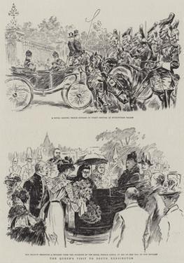 The Queen's Visit to South Kensington by Alexander Stuart Boyd