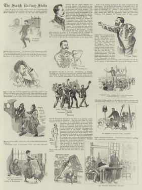 The Scotch Railway Strike by Alexander Stuart Boyd