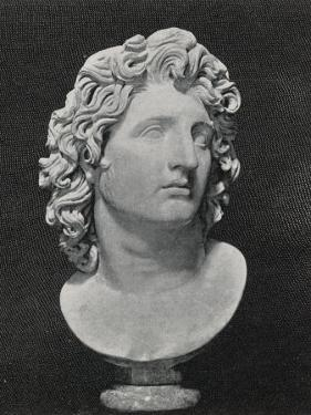 Alexander the Great King of Macedon Greece Depicted as a Sun-God