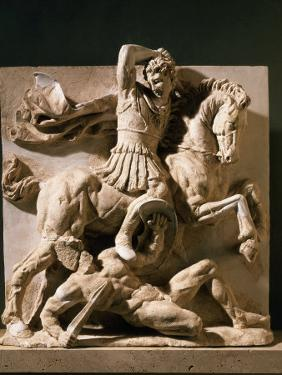 Alexander the Great, Metope, 3rd century BC Greek