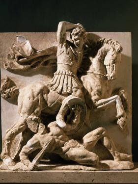 Alexander the Great, Metope, 3rd century BC Greek