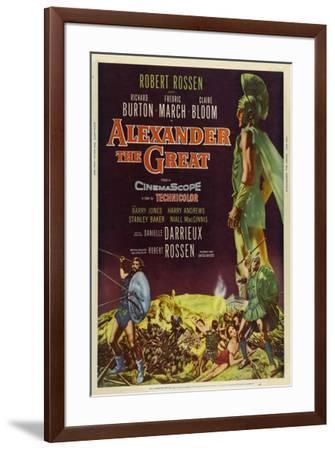 Alexander the Great--Framed Poster