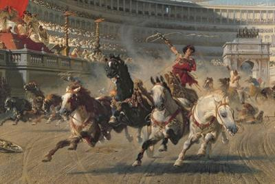 The Chariot Race, C.1882
