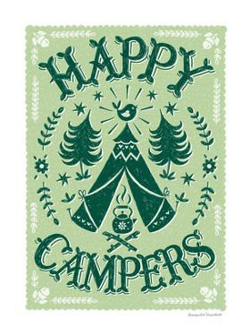 Happy Campers by Alexandra Snowdon